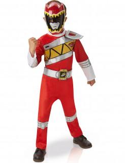 Power Rangers Deluxe Kinderkostüm Lizenzware rot-weiss