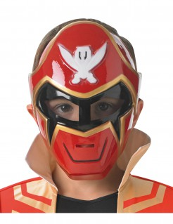 Power Rangers Super Megaforce™ Maske für Kinder rot