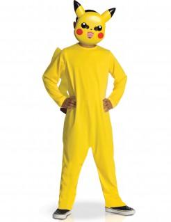 Pikachu Kinderkostüm Pokemon Kostüm gelb-rot-schwarz