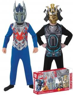 Optimus Prime und Drift Kostüme Transformers blau-schwarz