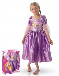 Rapunzel-Kostüm für Kinder in Lila