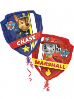 Paw Patrol™ Folienballon Party-Ballon bunt