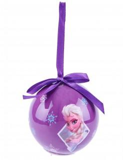 Leuchtende Weihnachtskugel Die Eiskönigin Lizenzartikel bunt 7cm