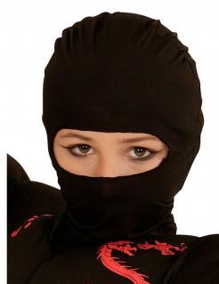 Ninja-Kindermaske schwarz