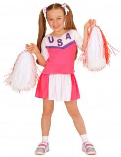 Cheerleader-Mädchenkostüm