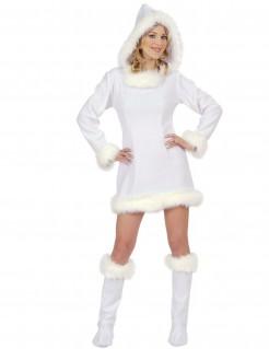 Eskimo Damen-Kostüm weiss