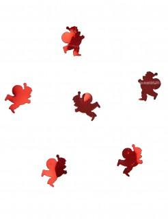 Konfetti WeihnachtsmannTischdeko rot 10 g