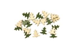 Konfetti Weihnachtsbaum Tischdeko grün 10 g