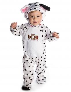 101-Dalmatiner-Kostüm für Babys weiß-schwarz