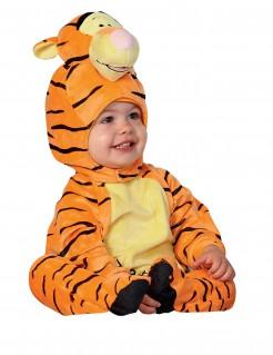Tigger Baby-Kostüm Winnie Puuh Lizenzartikel 2-teilig orange-gelb-schwarz