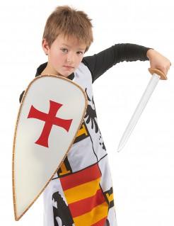 Ritter Kostümset für Kinder 4-teilig bunt