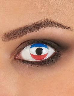 Kontaktlinsen Niederlande blau-weiss-rot