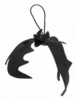 Fledermaus Halloween-Hängedeko schwarz 20cm