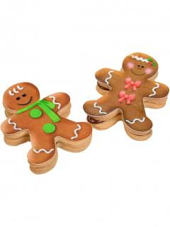 Zuckerdekorationen für Weihnachtspläzchen 9 Stück