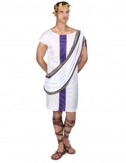 Römer-Herrenkostüm Antike weiss-lila
