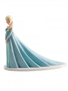 Kuchenfigur Elsa Die Eiskönigin Lizenzprodukt blau-weiß 8 x 10 x 4,5 cm