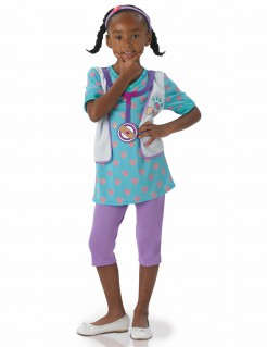 Doc McStuffins™-Kostüm für Kinder Karneval violett-türkis