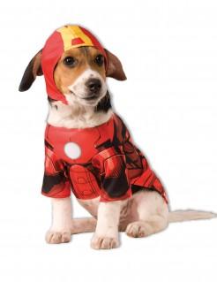 Marvel Iron Man Hundekostüm Lizenzware rot-gelb