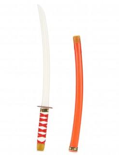 Ninja-Schwert für Kinder rot-weiss