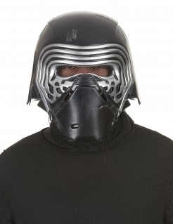 Kylo Ren Maske Star Wars Helm schwarz-silber