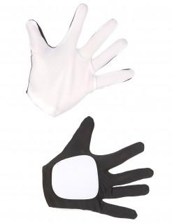 Original Storm Trooper Star Wars VII™ Erwachsenenhandschuhe schwarz