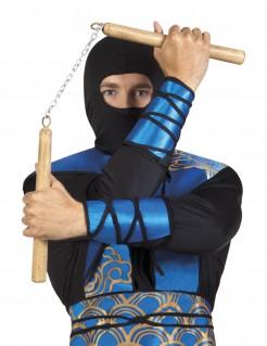 Nunchaku Ninja-Waffe beige