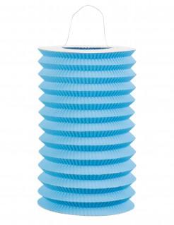 Papier-Lampion blau