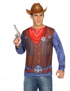 Cowboy-Hemd für Erwachsene