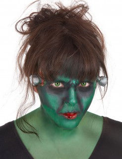 Frankenmonster Halloween Make-up-Set 10-teilig bunt