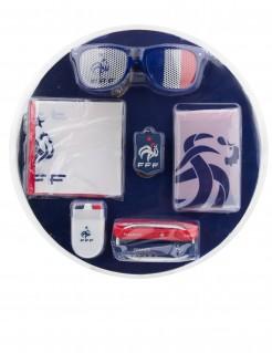 FFF Frankreich Fan-Set Lizenzprodukt 6-teilig bunt