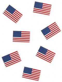 USA Flagge als Tischkonfetti 50 Stk. blau-rot-weiss 31,8g