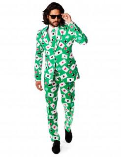 Mr. Poker - Herrenanzug von Opposuits grün