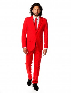 Opposuits™ Red Devil-Herrenanzug Rot