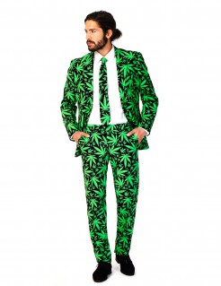 Mr. Cannaboss - Opposuits-Anzug schwarz-grün