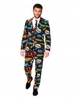 Mr. Comic - Opposuits-Anzug für Herren schwarz-bunt