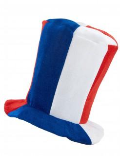 Frankreich Fan-Hut mit Sound Fußball-Fanartikel blau-weiss-rot
