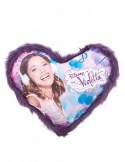 Disney™ Violetta™ Kissen Herzform Lizenzware bunt 36x32cm