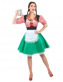 Dirndl Damen-Kostüm bunt