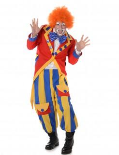 Kostüm Clown für Herren bunt
