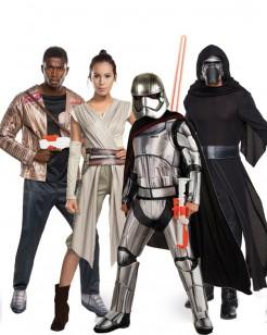 Star Wars Episode VII Gruppenkostüm-Set bunt