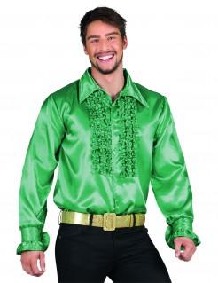 Disco-Hemd für Herren grün