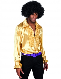 Herren-Disco-Hemd - goldfarben