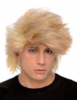 80er Jahre Herrenperücke blond