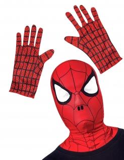 Spiderman™ Accessoire-Set für Kinder rot-schwarz