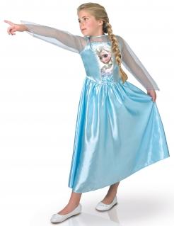 Elsa Frozen™ Die Eiskönigin Mädchenkostüm Prinzessinverkleidung blau