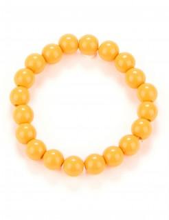 Perlen-Armband orange