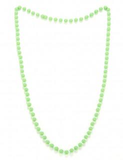 Perlenhalskette neongrün