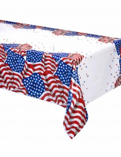 Tischdecke USA Motto Party 137 x 213cm