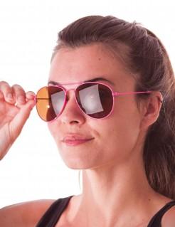 Pilotenbrille für Damen rosa