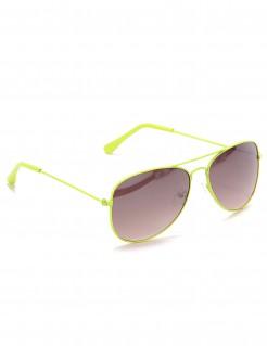 Piloten-Brille für Erwachsene gelb